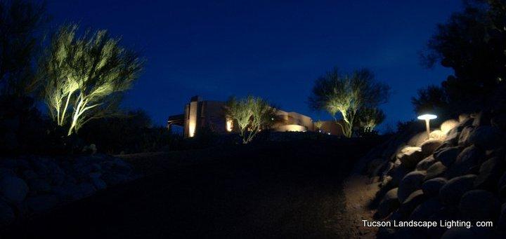 tucson landscape lighting bringing light to your night
